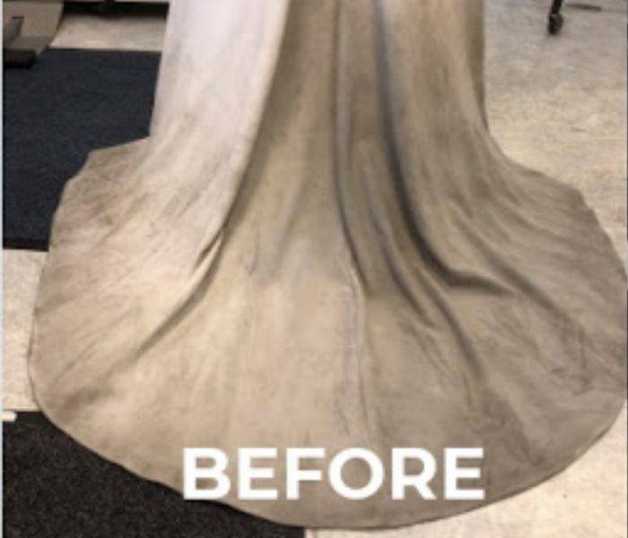 Damaged Dress - Before